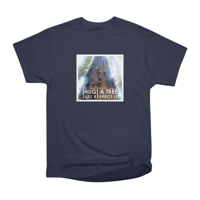 Tree [Hugger] Men's Heavyweight T-Shirt by thinkinsidethebox's Artist Shop