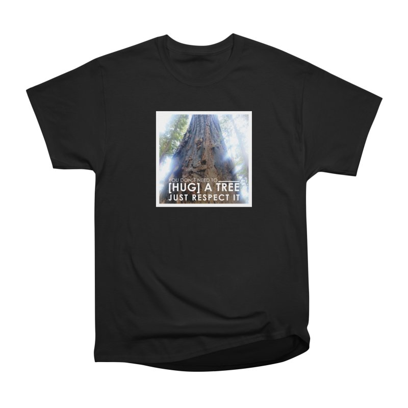 Tree [Hugger] Men's Heavyweight T-Shirt by thinkinsidethebox's Artist Shop