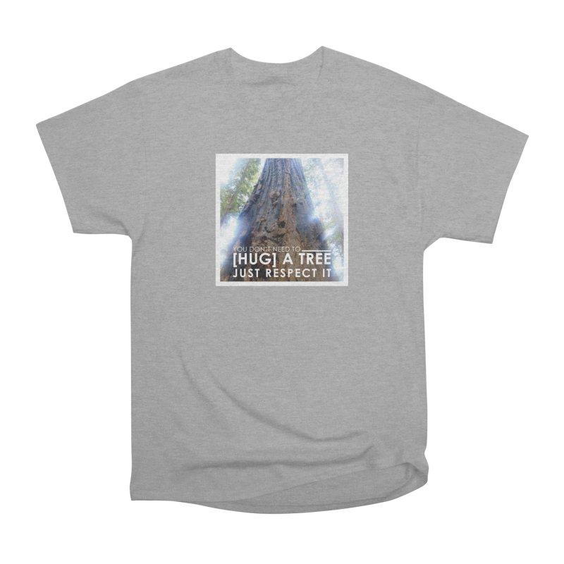 Tree [Hugger] Women's Heavyweight Unisex T-Shirt by thinkinsidethebox's Artist Shop