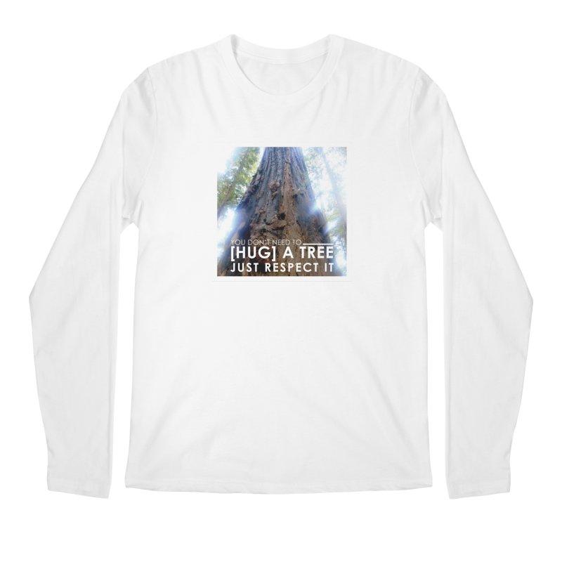 Tree [Hugger] Men's Regular Longsleeve T-Shirt by thinkinsidethebox's Artist Shop