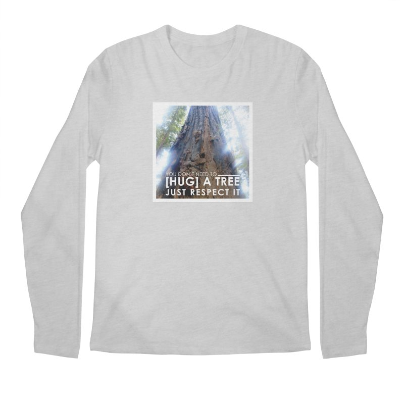 Tree [Hugger] Men's Regular Longsleeve T-Shirt by thinkinsidethebox's Artist Shop