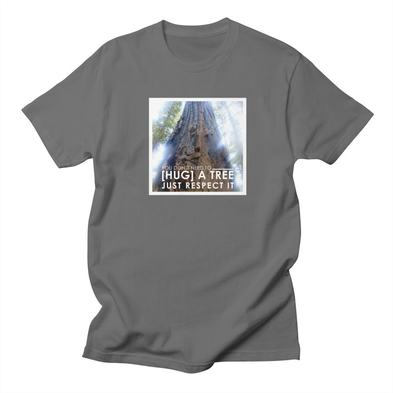 Tree [Hugger] Men's T-Shirt by thinkinsidethebox's Artist Shop