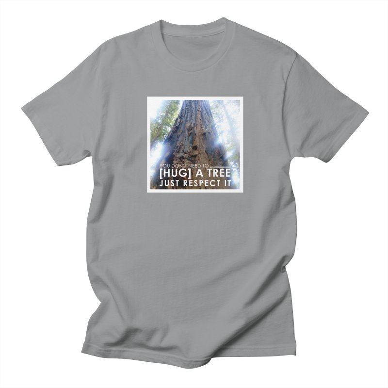 Tree [Hugger] Men's Regular T-Shirt by thinkinsidethebox's Artist Shop