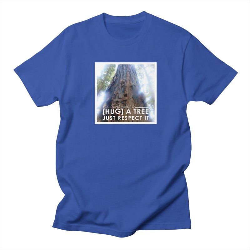 Tree [Hugger] Men's Regular T-Shirt by thinkinsidethebox's Artist Shop