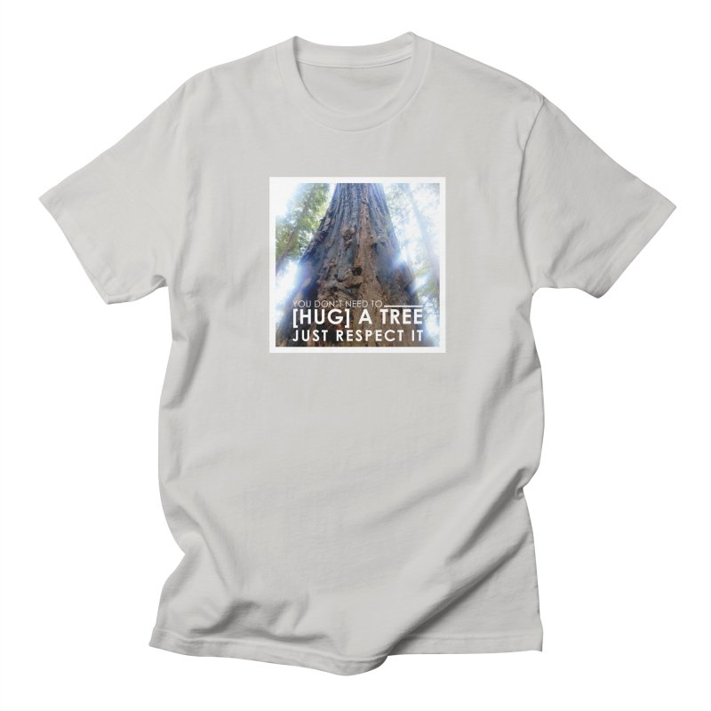Tree [Hugger] Women's Regular Unisex T-Shirt by thinkinsidethebox's Artist Shop