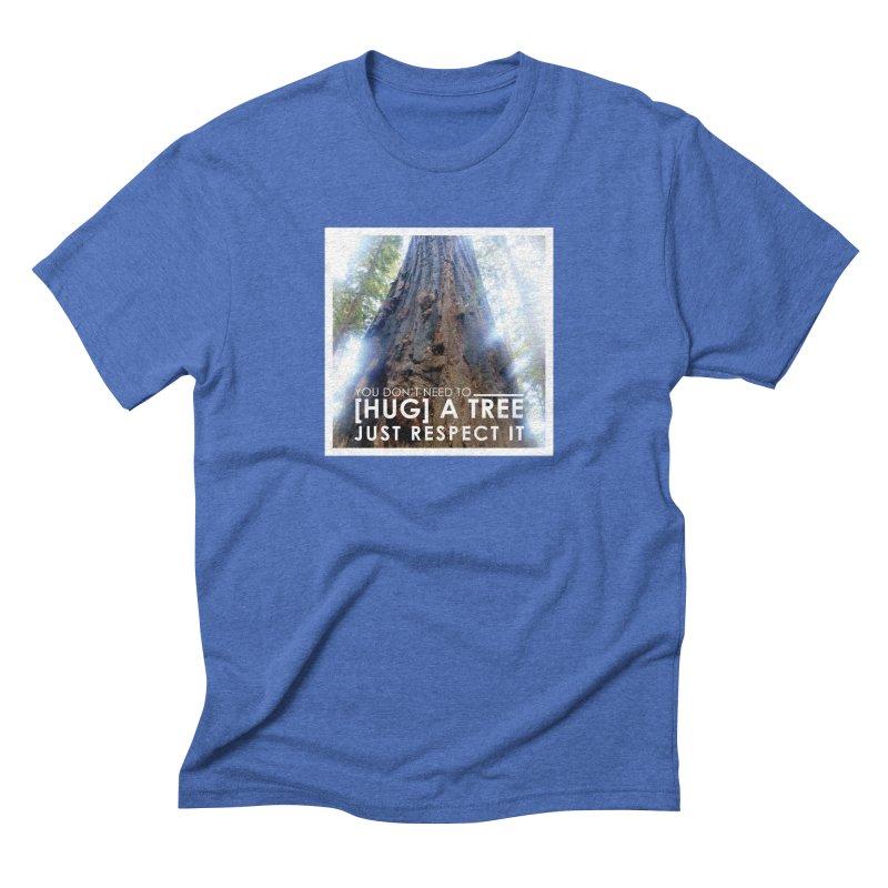 Tree [Hugger] Men's Triblend T-Shirt by thinkinsidethebox's Artist Shop