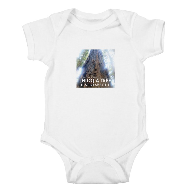 Tree [Hugger] Kids Baby Bodysuit by thinkinsidethebox's Artist Shop