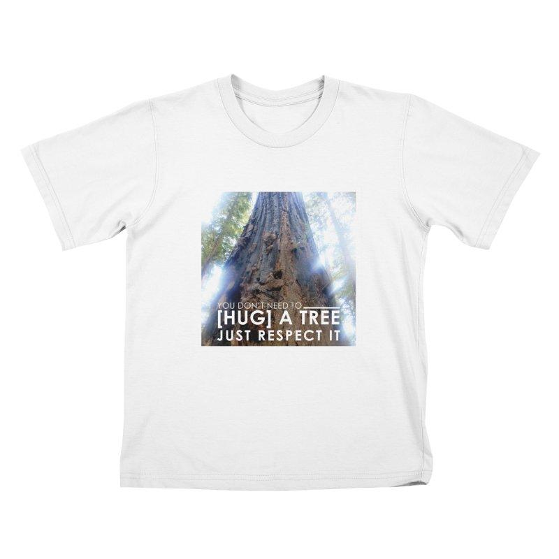 Tree [Hugger] Kids T-Shirt by thinkinsidethebox's Artist Shop