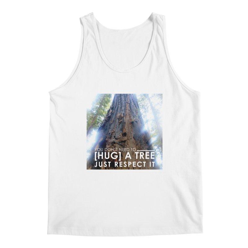 Tree [Hugger] Men's Regular Tank by thinkinsidethebox's Artist Shop