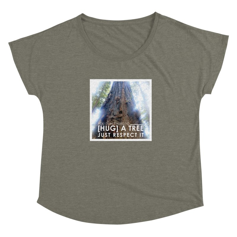 Tree [Hugger] Women's Scoop Neck by thinkinsidethebox's Artist Shop