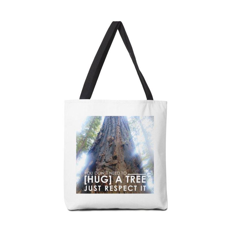 Tree [Hugger] Accessories Tote Bag Bag by thinkinsidethebox's Artist Shop