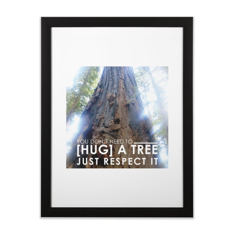 Tree [Hugger] Home Framed Fine Art Print by thinkinsidethebox's Artist Shop