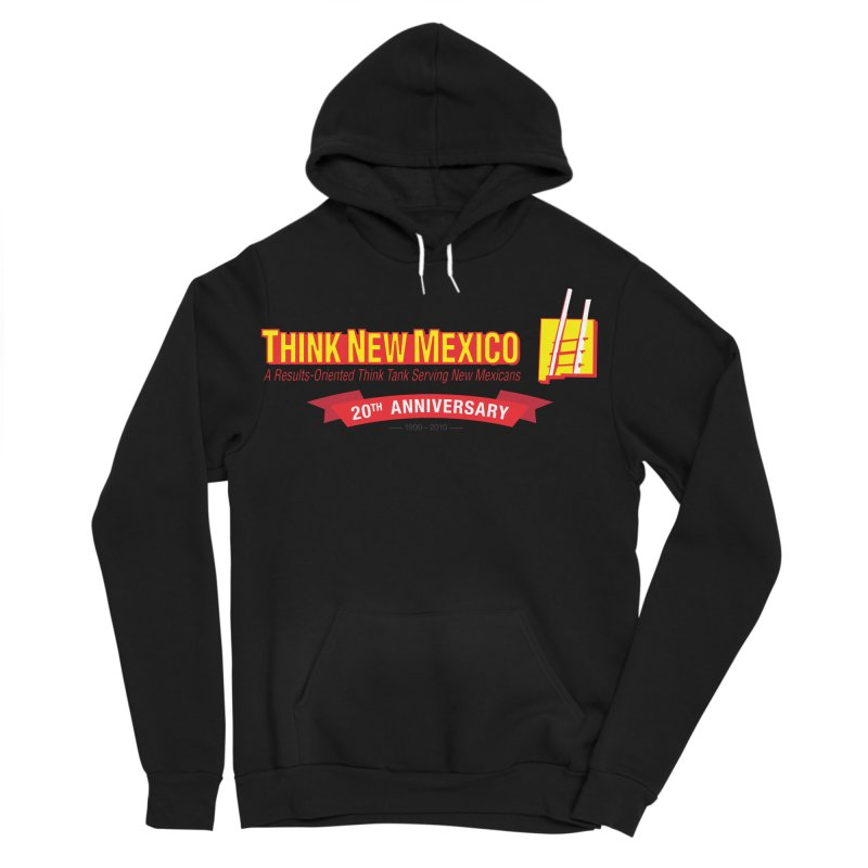 20th Anniversary Red Centered Banner Women's Sponge Fleece Pullover Hoody by Think New Mexico's Artist Shop