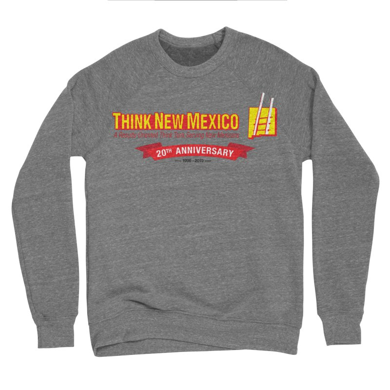 20th Anniversary Red Centered Banner Women's Sponge Fleece Sweatshirt by Think New Mexico's Artist Shop