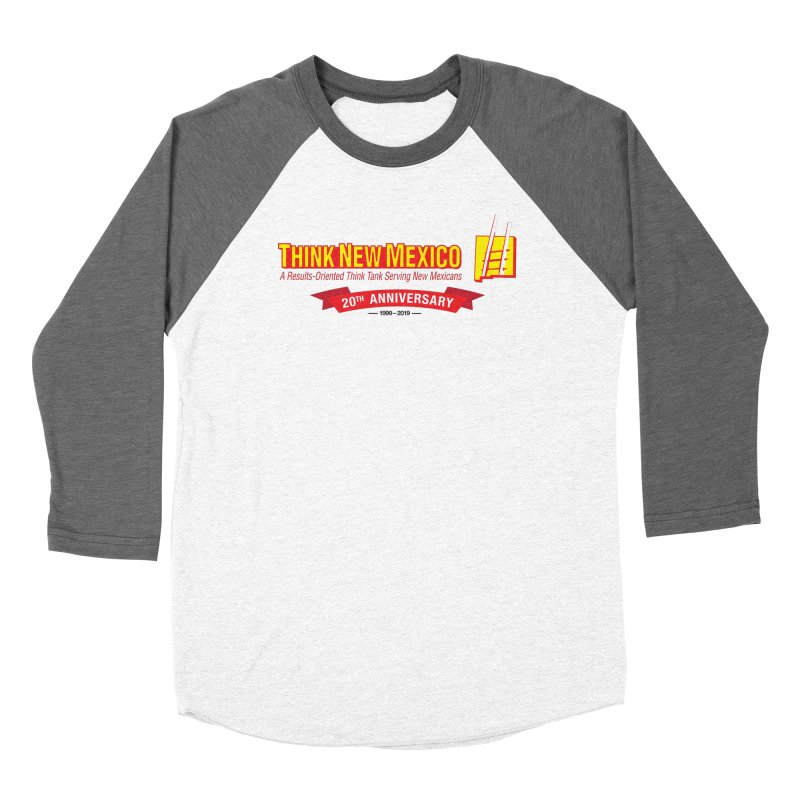 20th Anniversary Red Centered Banner Women's Longsleeve T-Shirt by Think New Mexico's Artist Shop