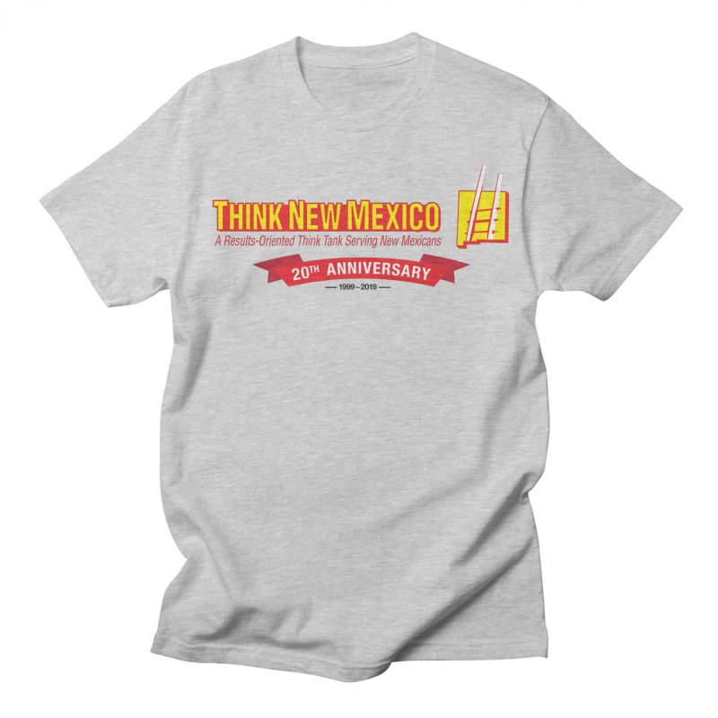 20th Anniversary Red Centered Banner Men's Regular T-Shirt by Think New Mexico's Artist Shop