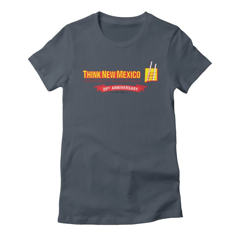 20th Anniversary Red Centered Banner Women's T-Shirt by Think New Mexico's Artist Shop