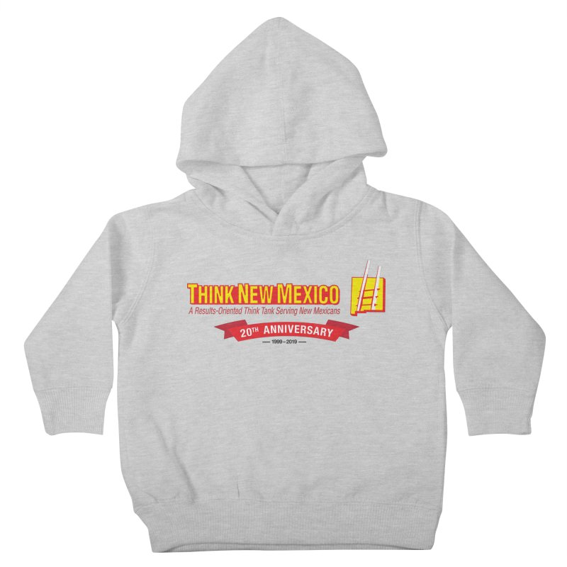 20th Anniversary Red Centered Banner Kids Toddler Pullover Hoody by Think New Mexico's Artist Shop