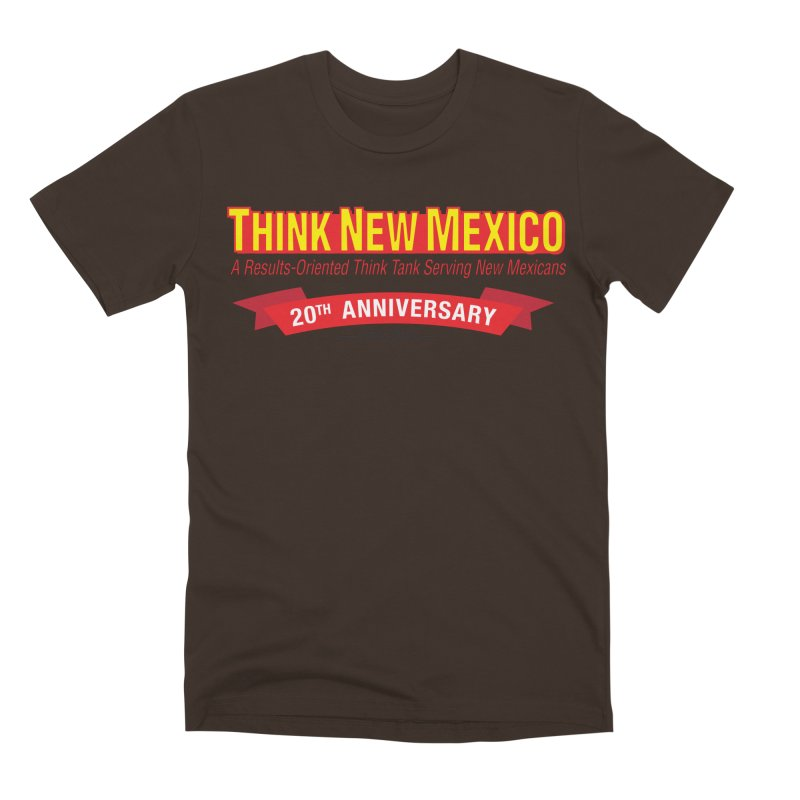 20th Anniversary Red No State Men's Premium T-Shirt by Think New Mexico's Artist Shop