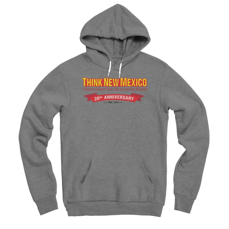 20th Anniversary Red No State Women's Sponge Fleece Pullover Hoody by Think New Mexico's Artist Shop