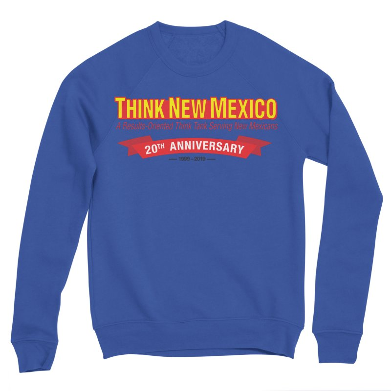 20th Anniversary Red No State Women's Sponge Fleece Sweatshirt by Think New Mexico's Artist Shop