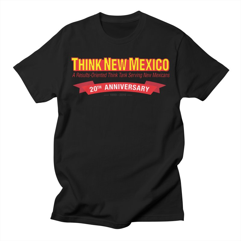 20th Anniversary Red No State Men's Regular T-Shirt by Think New Mexico's Artist Shop