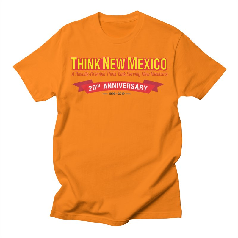 20th Anniversary Red No State Women's Regular Unisex T-Shirt by Think New Mexico's Artist Shop