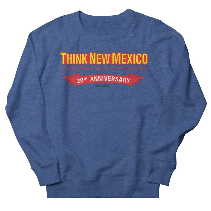 20th Anniversary Red No State Men's Sweatshirt by Think New Mexico's Artist Shop