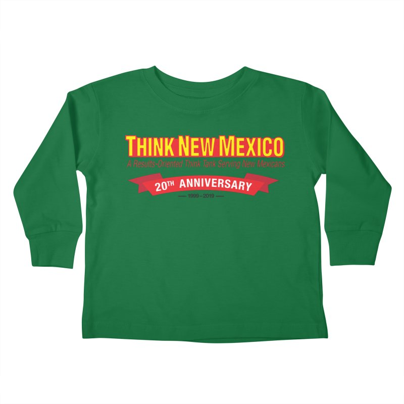20th Anniversary Red No State Kids Toddler Longsleeve T-Shirt by Think New Mexico's Artist Shop