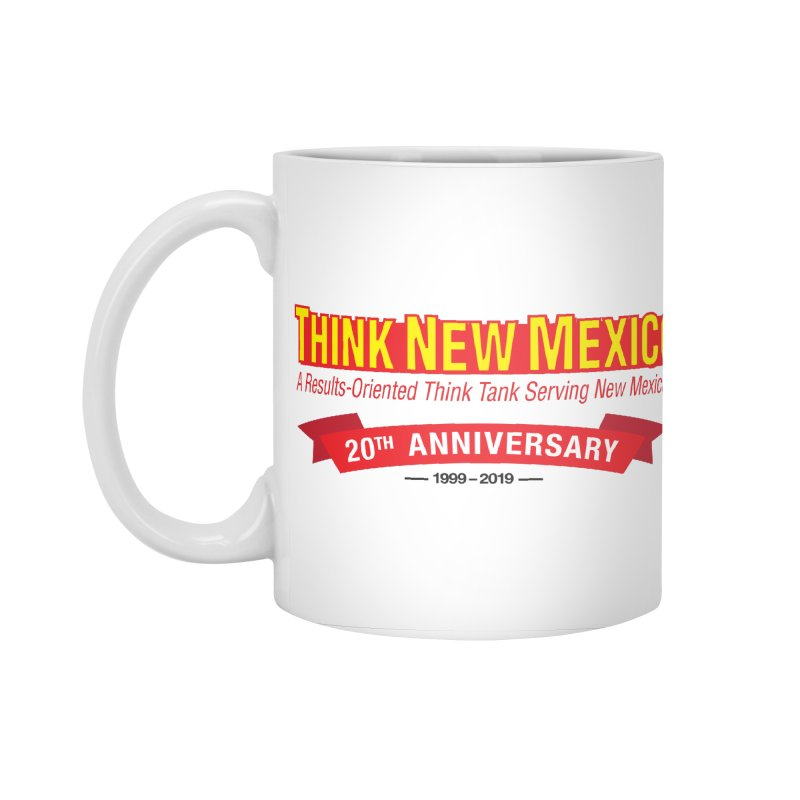 20th Anniversary Red No State Accessories Standard Mug by Think New Mexico's Artist Shop