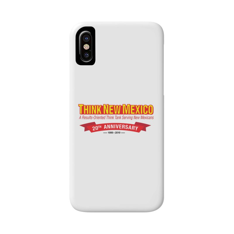 20th Anniversary Red No State Accessories Phone Case by Think New Mexico's Artist Shop