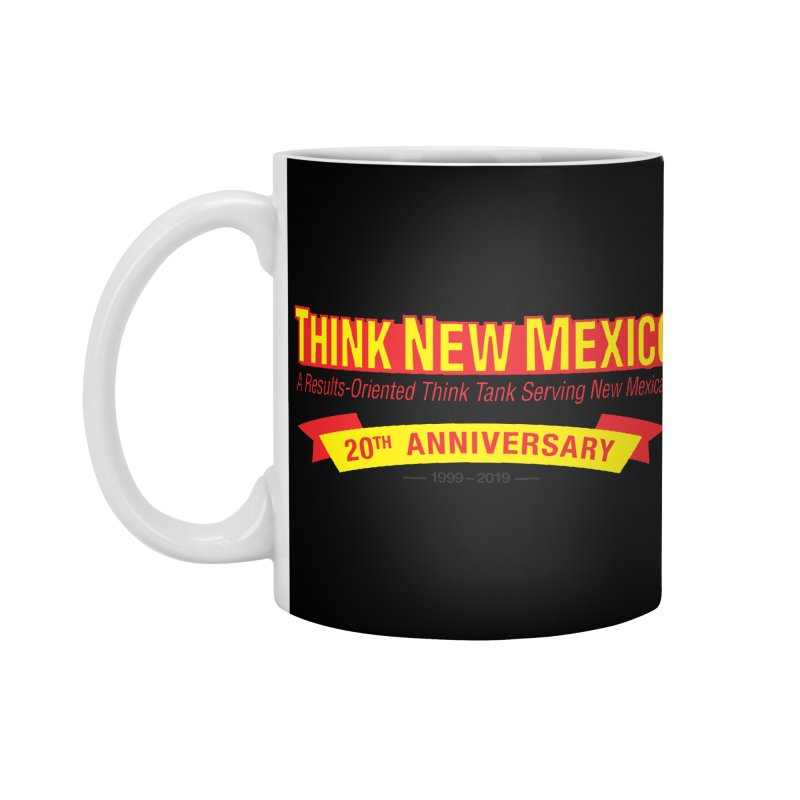 20th Anniversary Yellow No State Accessories Standard Mug by Think New Mexico's Artist Shop