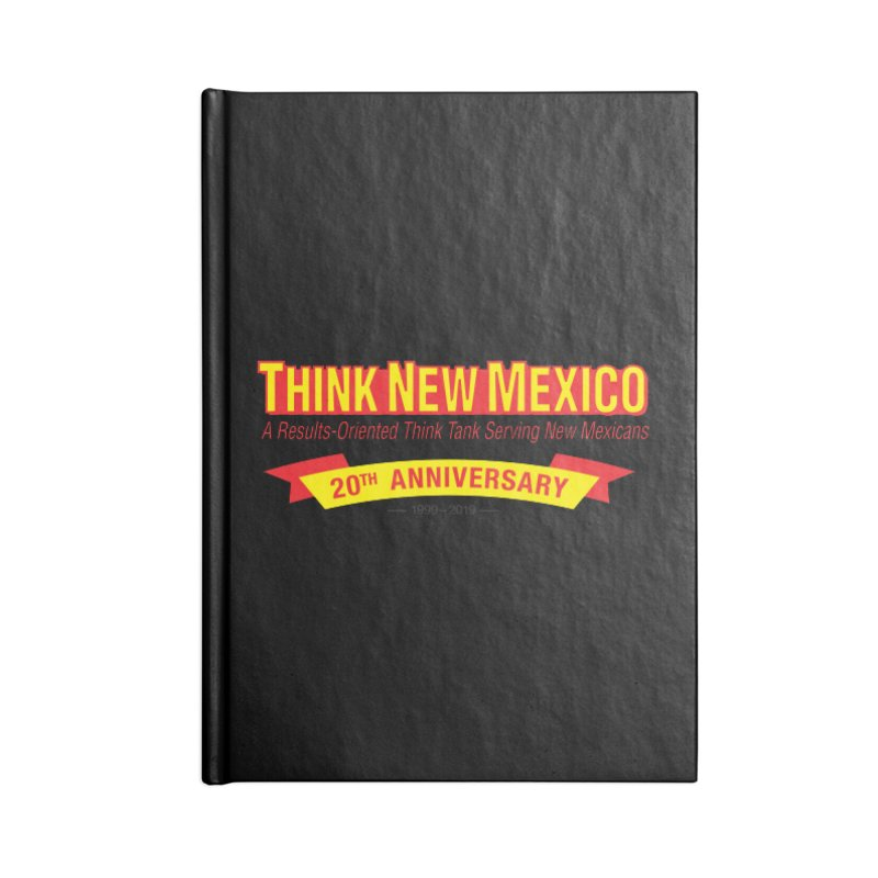 20th Anniversary Yellow No State Accessories Lined Journal Notebook by Think New Mexico's Artist Shop