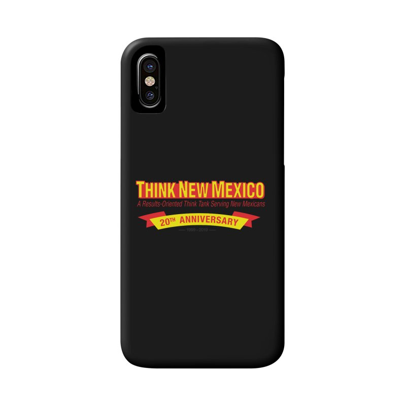 20th Anniversary Yellow No State Accessories Phone Case by Think New Mexico's Artist Shop