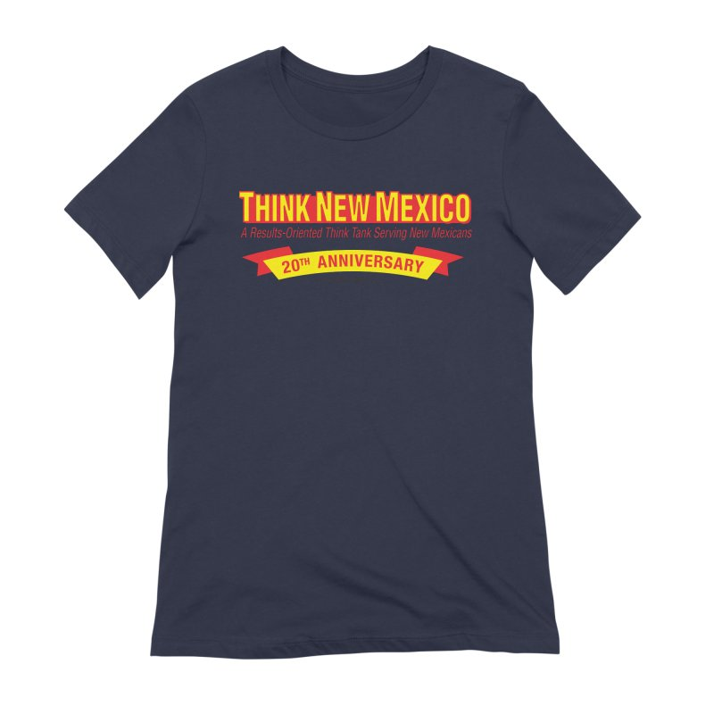 20th Anniversary Yellow No State Women's Extra Soft T-Shirt by Think New Mexico's Artist Shop