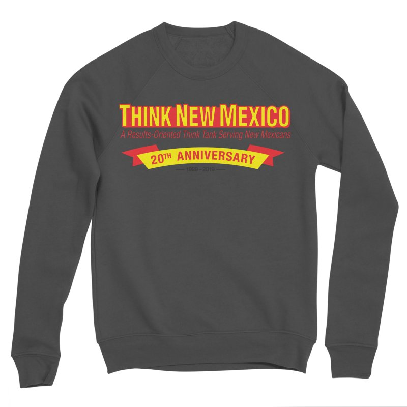 20th Anniversary Yellow No State Men's Sponge Fleece Sweatshirt by Think New Mexico's Artist Shop