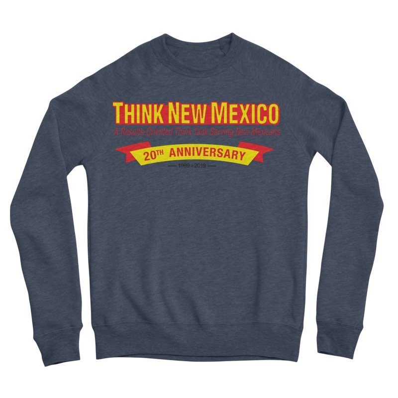20th Anniversary Yellow No State Men's Sponge Fleece Sweatshirt by Think New Mexico's Artist Shop