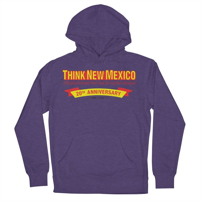 20th Anniversary Yellow No State Women's French Terry Pullover Hoody by Think New Mexico's Artist Shop