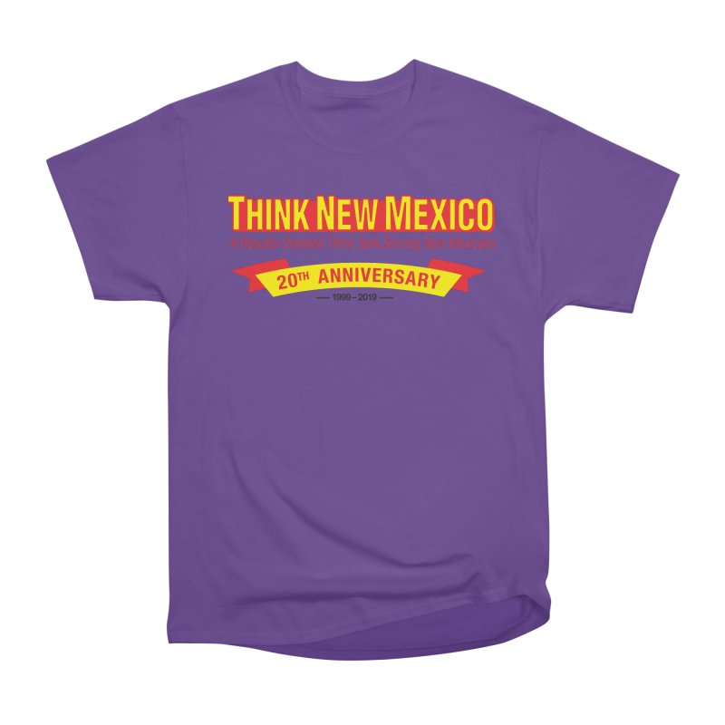 20th Anniversary Yellow No State Men's Heavyweight T-Shirt by Think New Mexico's Artist Shop