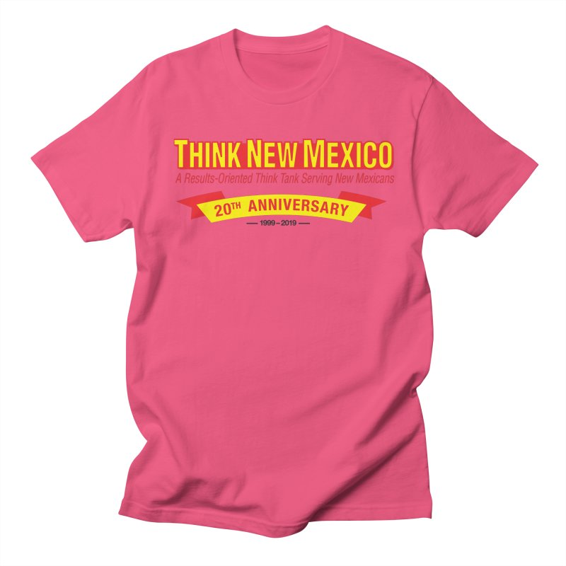 20th Anniversary Yellow No State Women's Regular Unisex T-Shirt by Think New Mexico's Artist Shop
