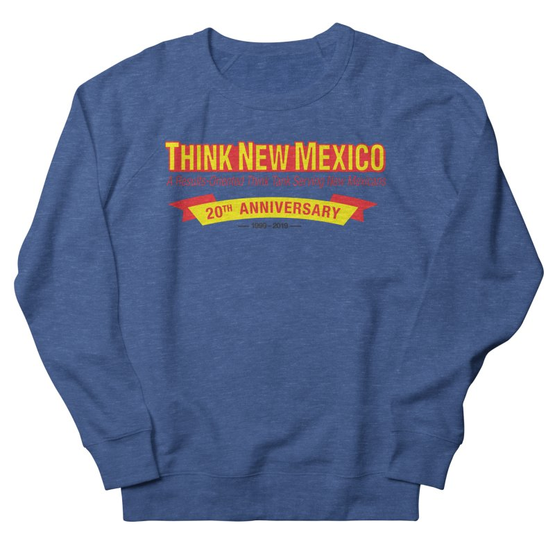 20th Anniversary Yellow No State Men's Sweatshirt by Think New Mexico's Artist Shop