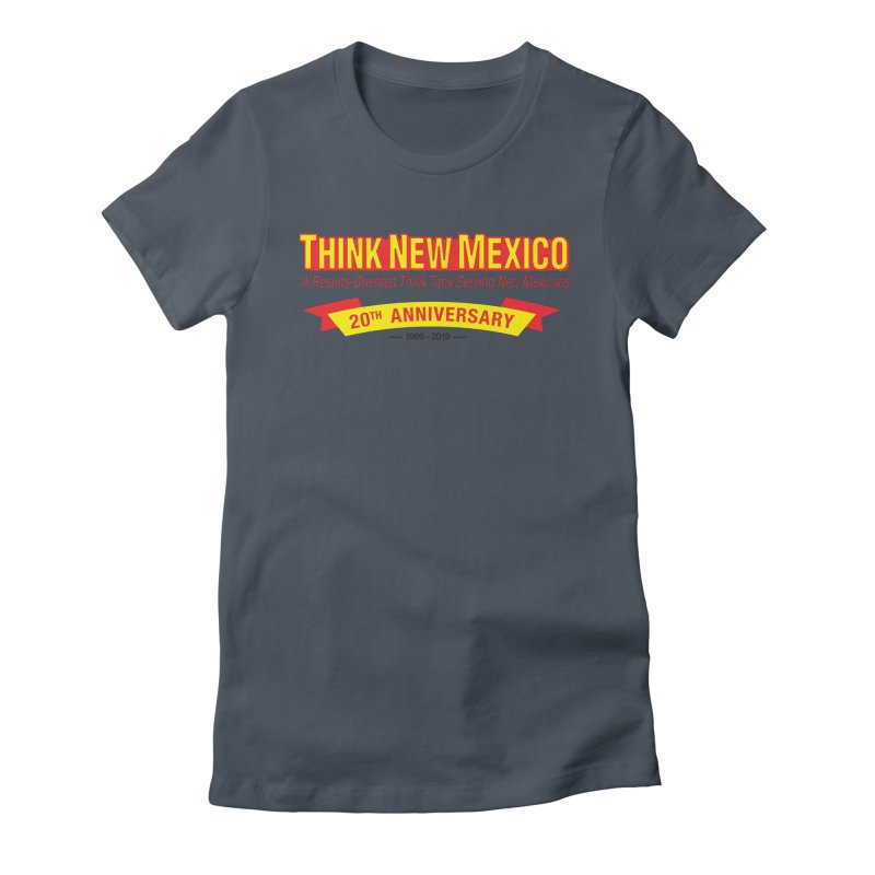 20th Anniversary Yellow No State Women's T-Shirt by Think New Mexico's Artist Shop