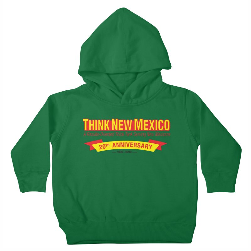 20th Anniversary Yellow No State Kids Toddler Pullover Hoody by Think New Mexico's Artist Shop
