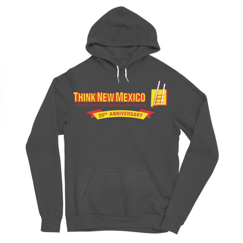 20th Anniversary Yellow Centered Banner Women's Sponge Fleece Pullover Hoody by Think New Mexico's Artist Shop