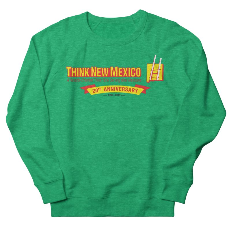 20th Anniversary Yellow Centered Banner Women's Sweatshirt by Think New Mexico's Artist Shop