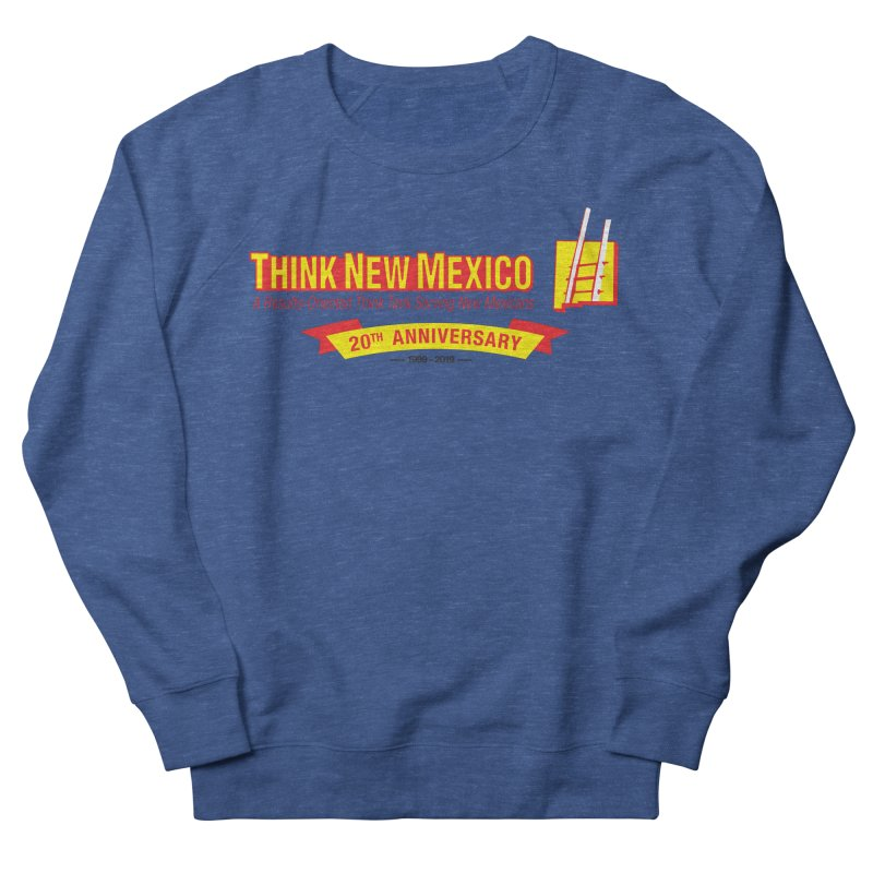 20th Anniversary Yellow Centered Banner Men's Sweatshirt by Think New Mexico's Artist Shop