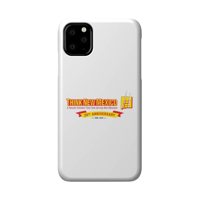20th Anniversary Yellow Centered Banner Accessories Phone Case by Think New Mexico's Artist Shop