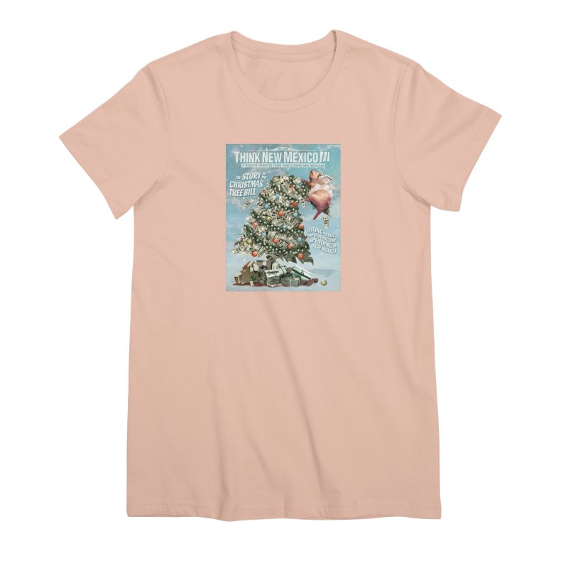 Think New Mexico Fall 2016 Capital Outlay Reform Report Cover Women's T-Shirt by Think New Mexico's Artist Shop