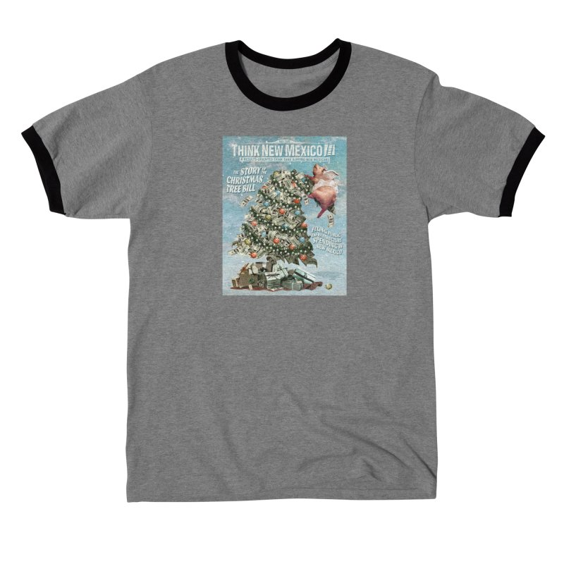 Think New Mexico Fall 2016 Capital Outlay Reform Report Cover Men's T-Shirt by Think New Mexico's Artist Shop