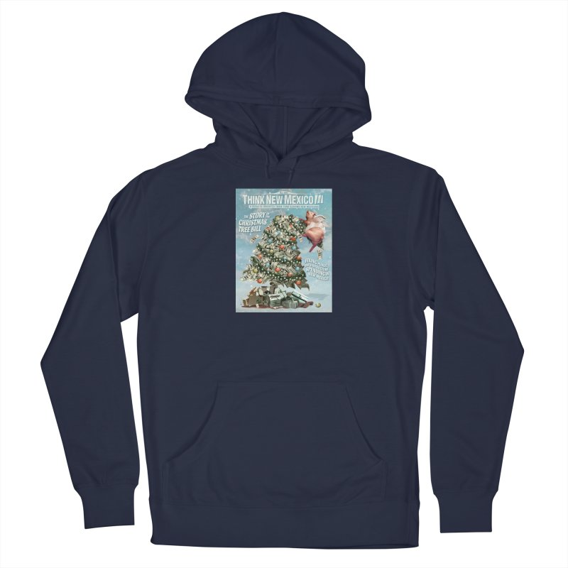Think New Mexico Fall 2016 Capital Outlay Reform Report Cover Men's Pullover Hoody by Think New Mexico's Artist Shop